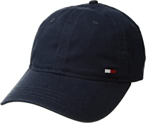 0b0a6bba54b Tommy Hilfiger Men s Dad Hat Billy Corner Flag Cap