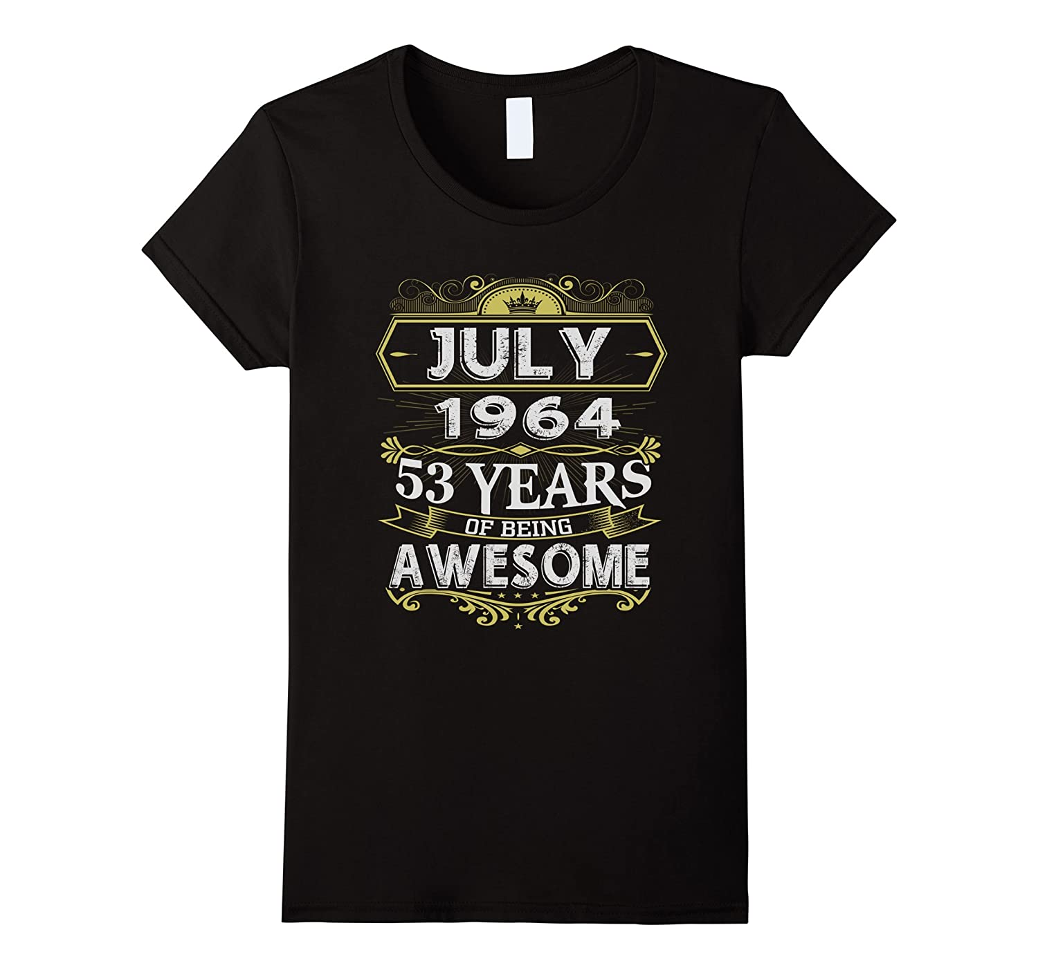 Awesome July 1964 – 50th Birthday Gifts Funny Tshirt-Loveshirt