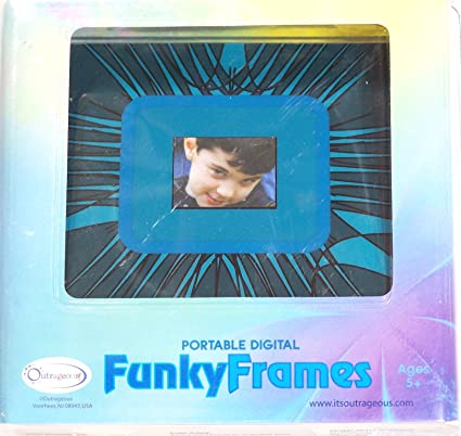 Buy Funky Frames Portable Digital Photo Frame Online at Low Price in ...