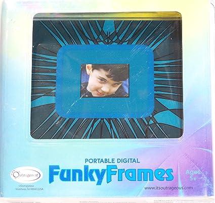 Amazon Funky Frames Portable Digital Photo Frame Digital