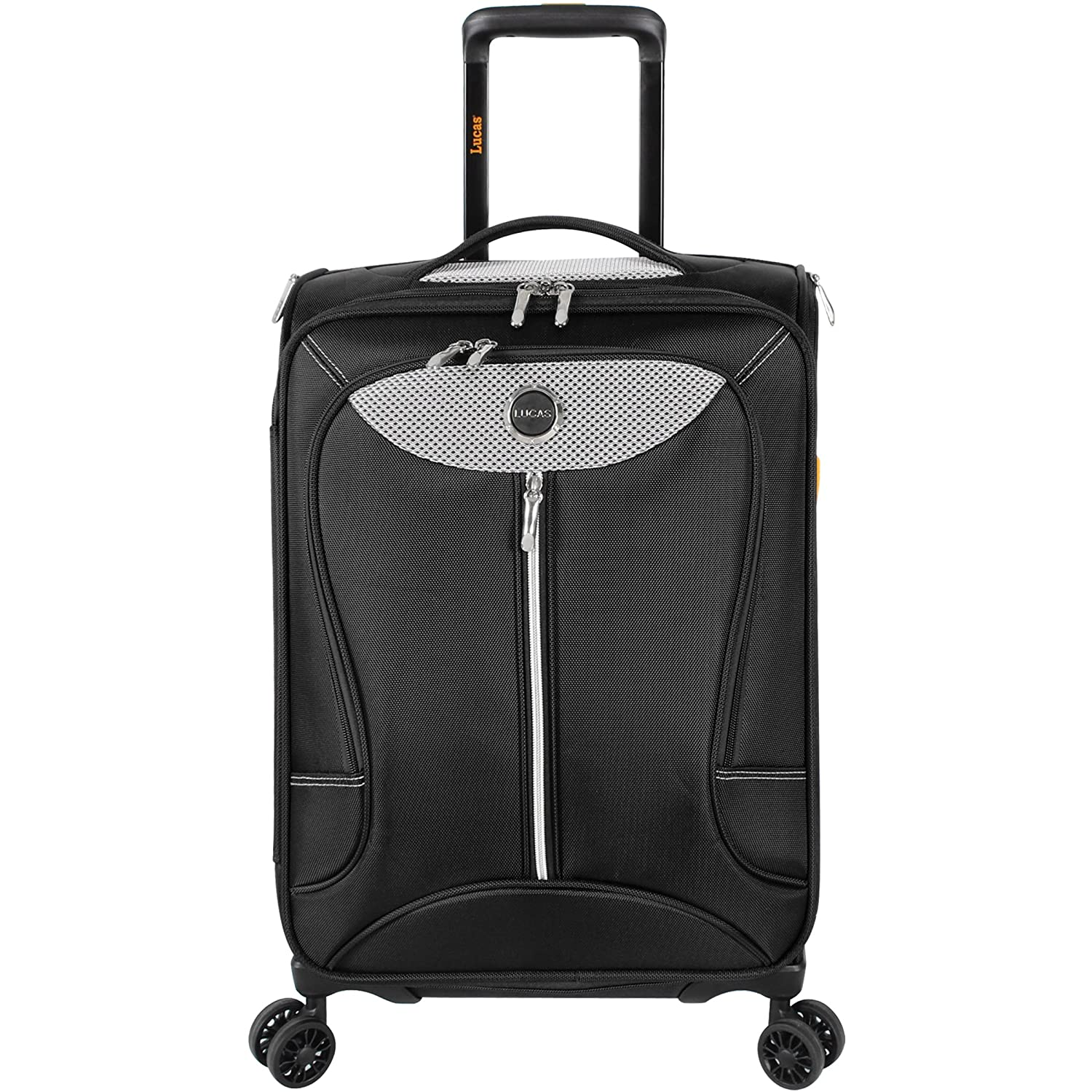 amazon com lucas luggage adrenaline 2 piece softside expandable