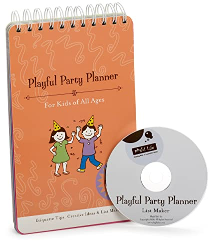 amazon com playful party planner kitchen dining