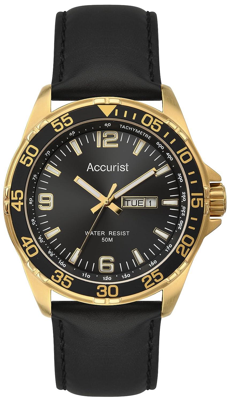 Accurist Herren-Armbanduhr Unisex MS1044B Analog Quarz