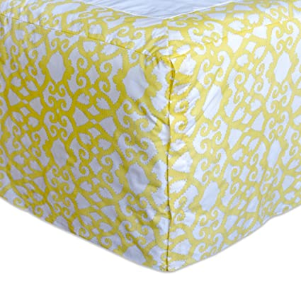 Buy Dena Home Payton Twin Bed Skirt Yellow White Online At Low