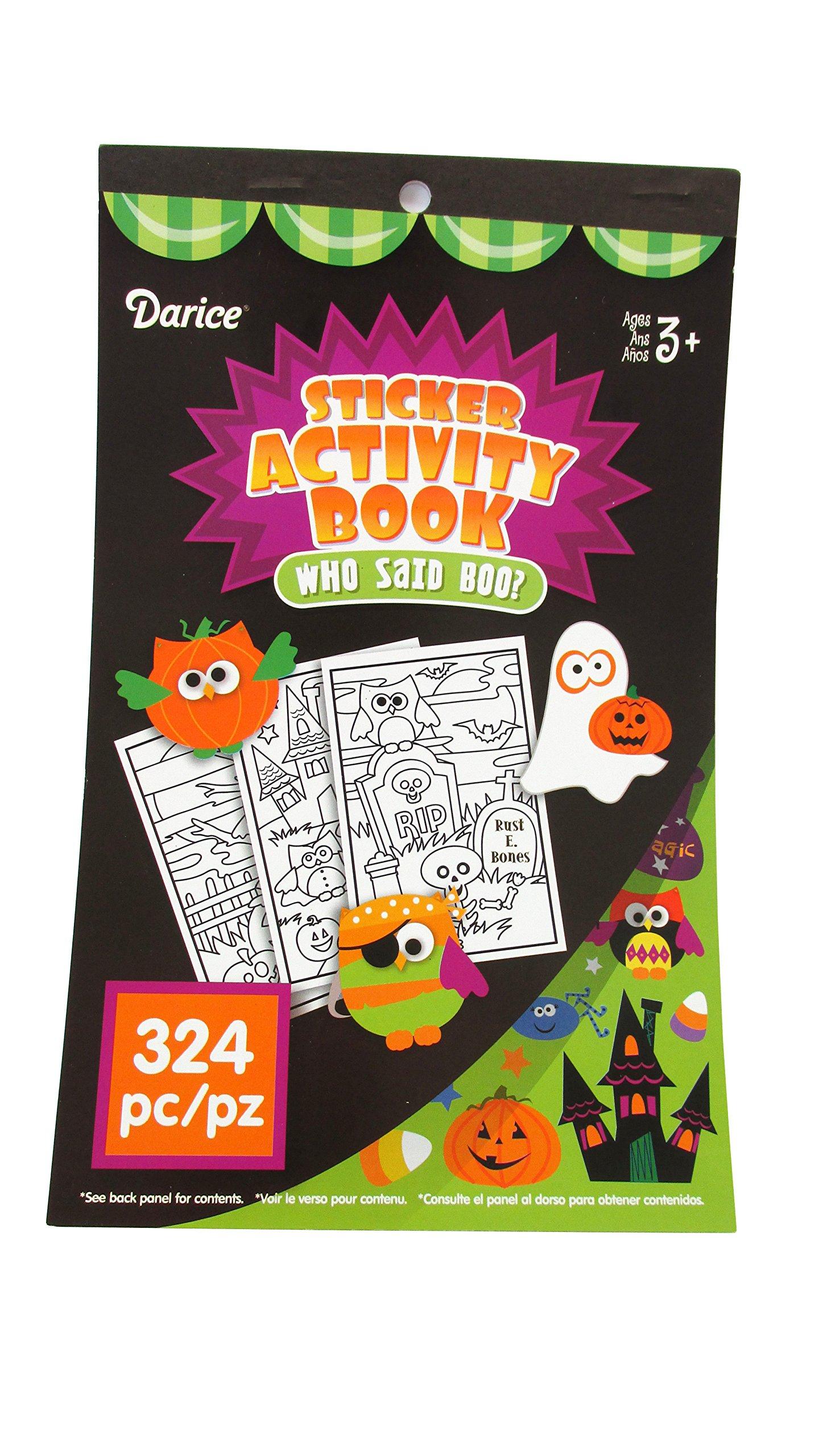 WGI Halloween Sticker Activity Books (2 Books)