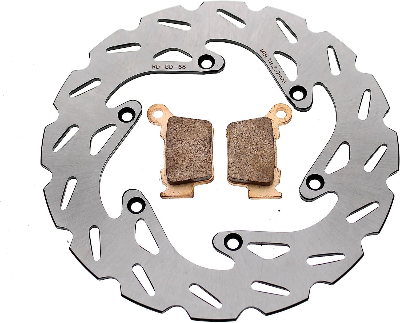 Brake Rotors and Brake Pads fits KTM 300 XC 2006-2020 Rear RipTide