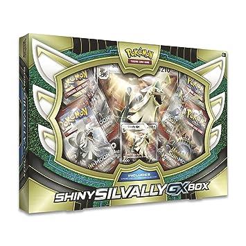 Pokèmon poc511 GX Caja: Plata Colores Brillante, Juego: Amazon.es: Juguetes y juegos