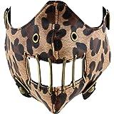 Enimay Biker Face Mask Wind Protector Studded Vented Strap