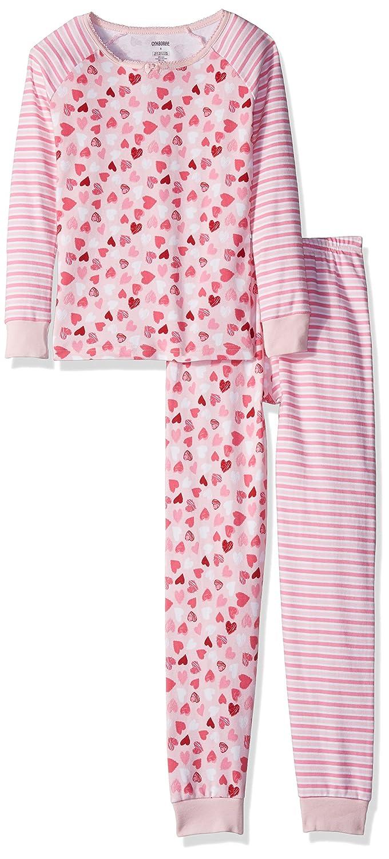 e40110728d Amazon.com  Gymboree Big Girls  Heart Stripe Print Mix Sleep Set  Clothing