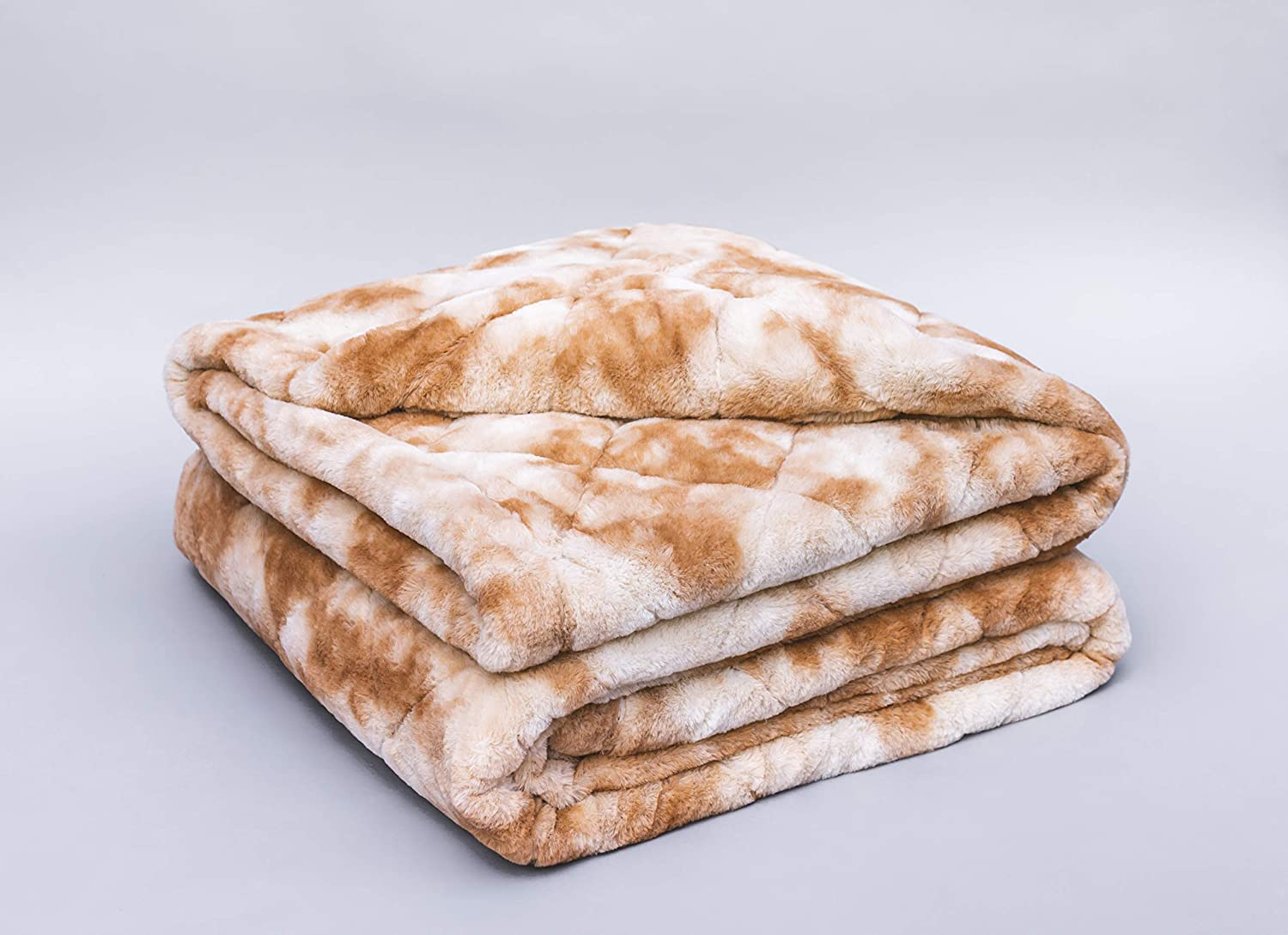 Living Room 60x80, 15 lb Faux Fur Ultra Minky Pine /& River Weighted Blanket -Elevate Your Home Get Better Rest Without Sacrificing Design | Anywhere | for D/écor on Sofa Bed