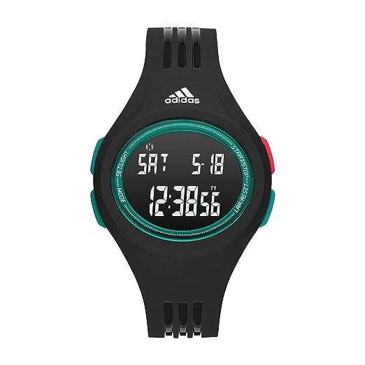 f6d45850cbf0 adidas Performance Reloj Digital para Hombre de Cuarzo con Correa en  Silicona ADP3229  Amazon.es  Relojes