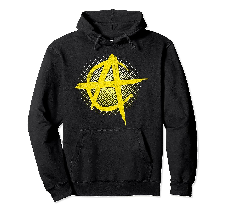 Anarcho-Capitalism Hoodie | AnCap Yellow Logo-fa