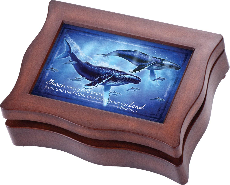 海外最新 Whales平和とSerenity Cottage B00KY7B7K6 Gardenダーク木目仕上げデジタルNatureサウンド録音記念品ボックス B00KY7B7K6, 店舗をもたないスイーツ店:af99189f --- arcego.dominiotemporario.com