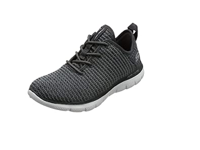 Womens Flex Appeal 2.0-Bold Move Trainers, Black/Charcoal, B(M) US Skechers