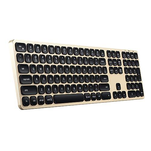 Satechi アルミニウムBluetoothワイヤレスキーボード