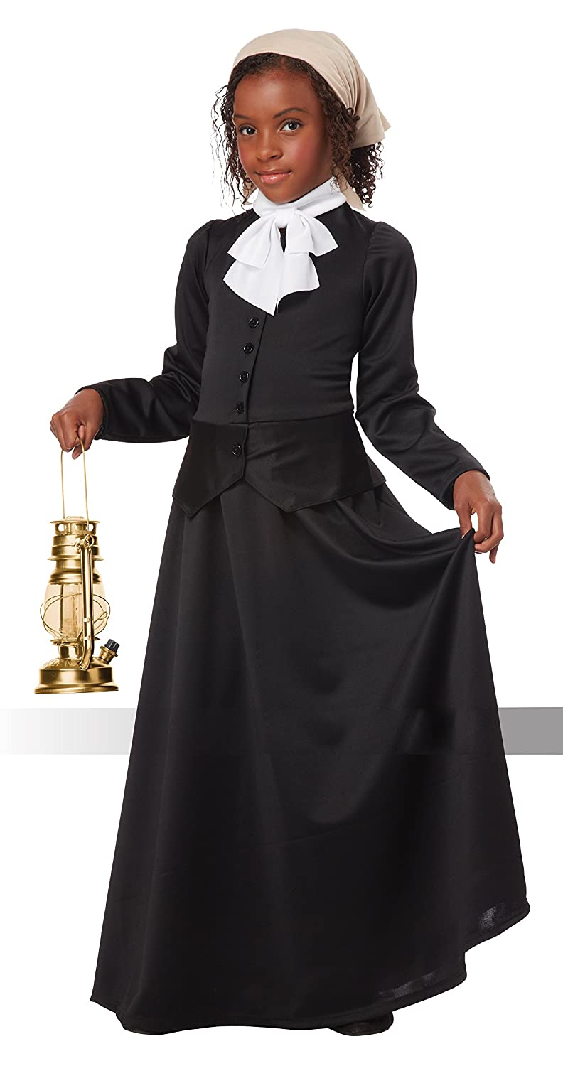 com california costumes susan b anthony harriet tubman com california costumes susan b anthony harriet tubman girl costume one color large toys games
