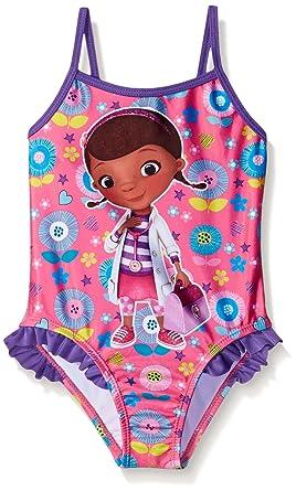 acf55c46d5e2e Amazon.com: Disney Toddler Girls' Doc McStuffins Swimsuit: Clothing