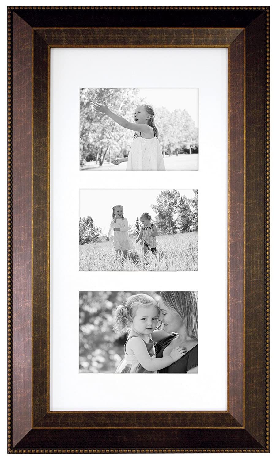 MCS 11x14 Inch Bead Wall Frame with 8x10 Inch Mat Opening, Espresso (45512) MCS Industries Inc.
