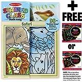 Safari: Stained Glass Made Easy Series + FREE Melissa & Doug Scratch Art Mini-Pad Bundle [94368]