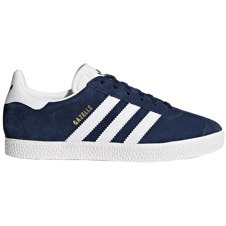 Adidas Gazelle Zapatillas Deportivas para Mujer Negras, Marino, Rosas. Sneaker Tenis 38 2/3 EU Collegiate Navy/Ftwr White