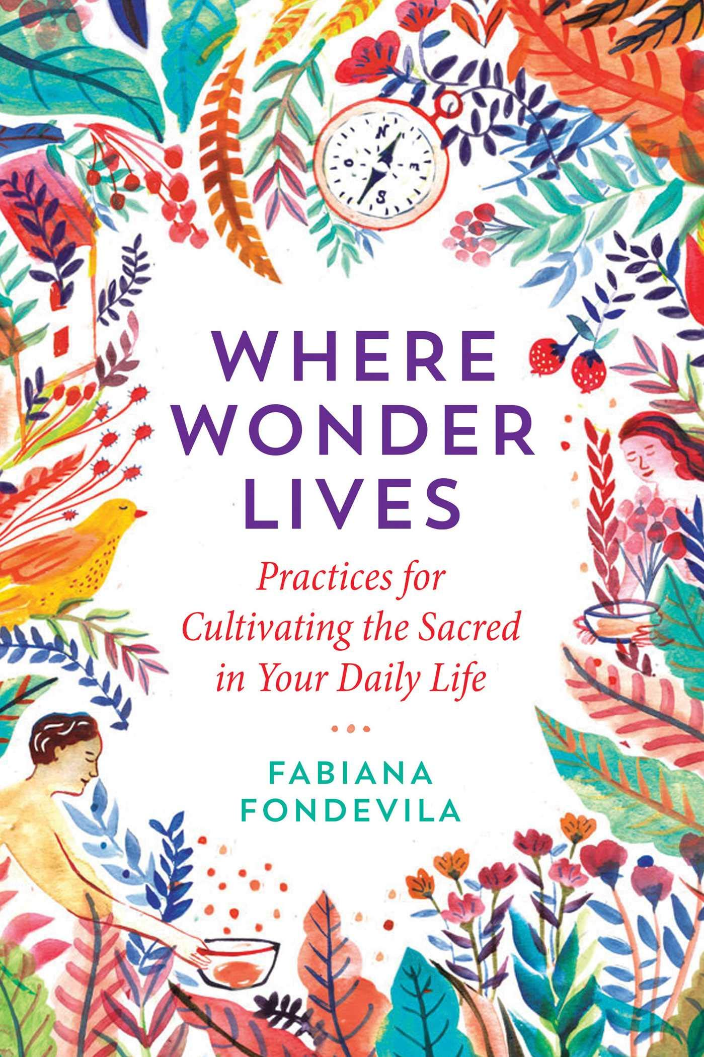 Where Wonder Lives: Practices for Cultivating the Sacred in Your Daily Life:  Fondevila, Fabiana, Steindl-Rast, Brother David: 9781644111741: Amazon.com:  Books