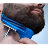 ShopAIS Beard Shaper Styling & Shaping Comb To Style Your Beard (ASSORTED COLOR)