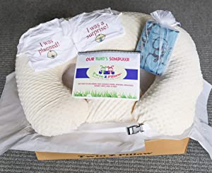 Twin Gift Set - Twin Z Pillow + 1 Cream Cover + 2 Fun One Pieces + Travel Bag + Scheduler