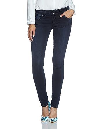 LTB Damen Jeans Molly Slim Fit Lorina Wash, Größe:W 24 L 36;