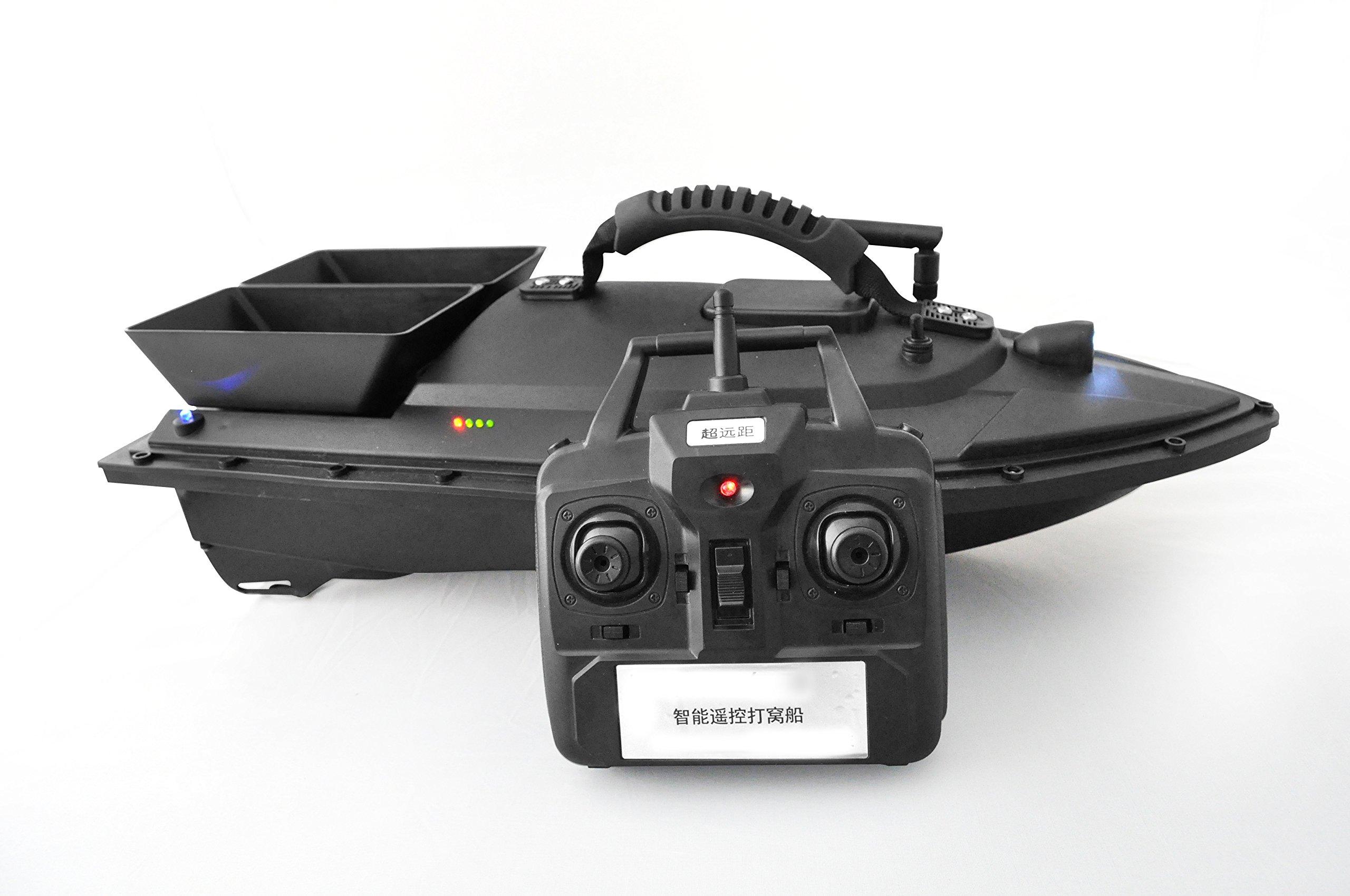 YARUIFANSEN Wireless RC Fishing Nest Lure Radio Bait Boat