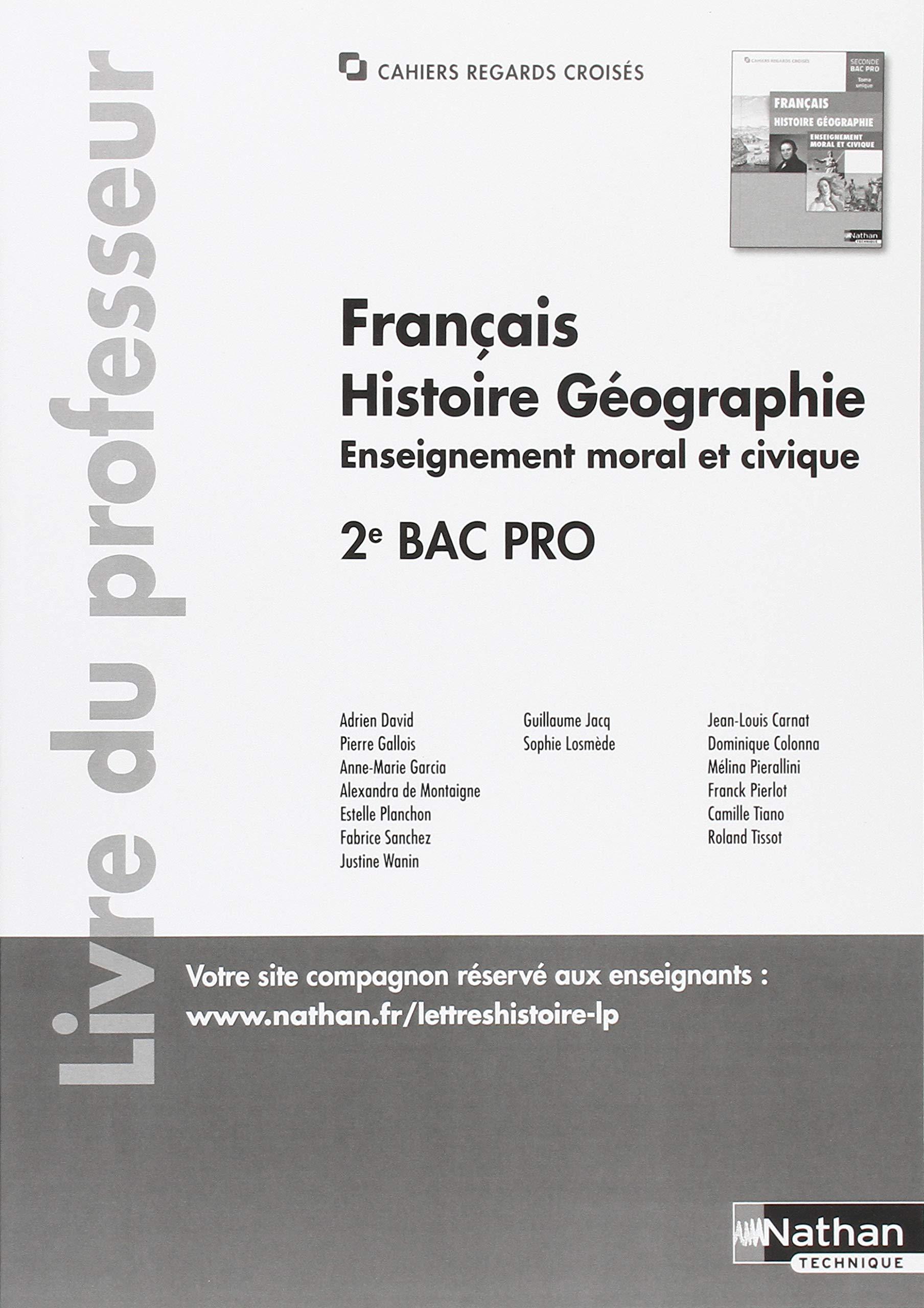 Francais Histoire Geographien Enseignement Moral Et Civique