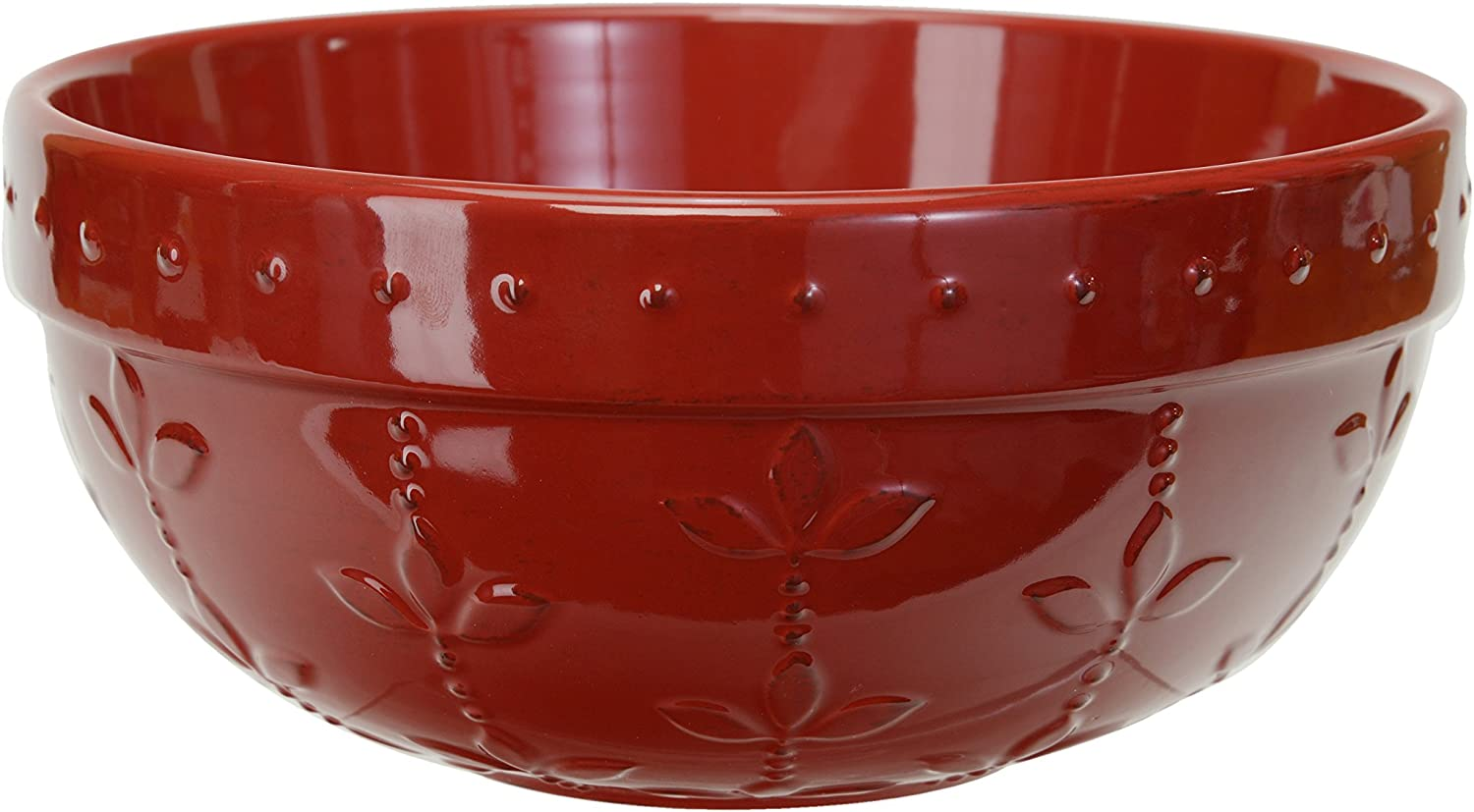 Signature Housewares Sorrento Collection Set of 2 Mixing Bowls 8-Inch and 9-Inch Aqua