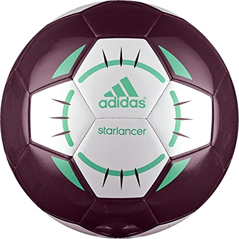 adidas Starlancer IV – Balón de fútbol, Color Rojo/Blanco/Verde ...
