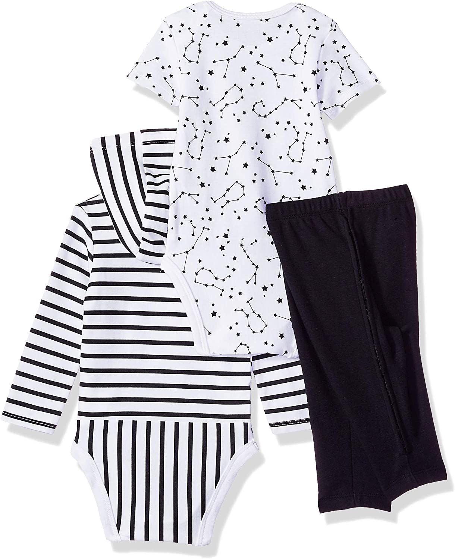Short Sleeve Hoodie Bodysuit Set Hanes Ultimate Baby Zippin Pants