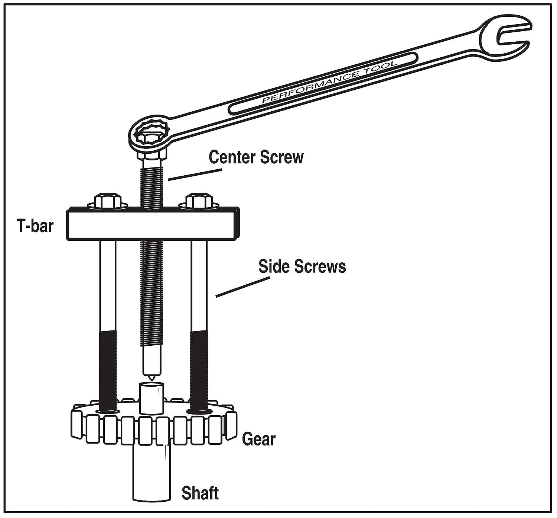 Performance Tool W80510 Automotive-flywheel-Tools
