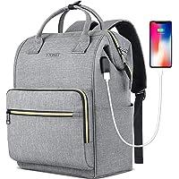 Laptop Backpack for Women Men, Travel Backpack for 15.6 Inch Laptop with RFID Pocket, USB Charging Port Water Resistant…