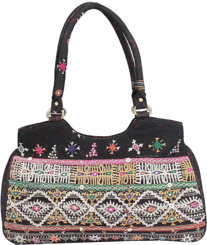 JTH Antique Embrodried Handmade Designer Women Shoulder Bag