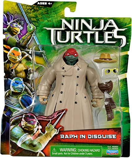Amazon Com Teenage Mutant Ninja Turtles Movie Raph In Disguise