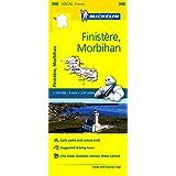 Finistere, Morbihan Michelin Local Map 308 (Michelin Local Maps)