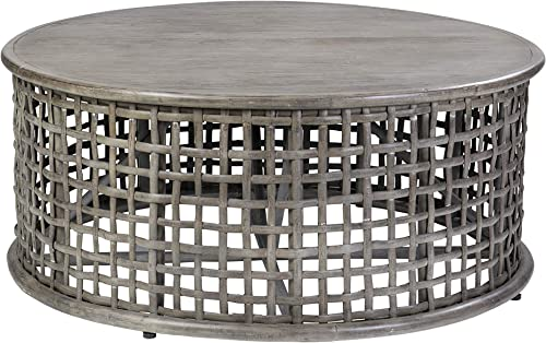 East at Main Open Weave coffee table