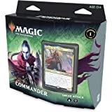 Magic The Gathering Zendikar Rising Commander Deck - Sneak Attack | 100 Cartas Listas para Jugar | 1 lámina Commander…