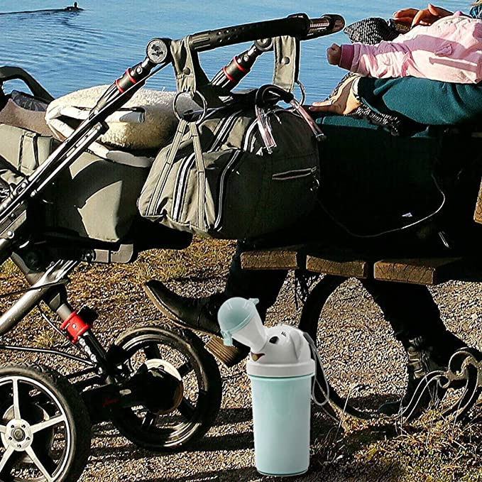 Port/átil Beb/é Ni/ño Orinal Orinal A prueba de fugas Higi/énico Inodoro de emergencia para viajes en autom/óvil Camping Pico Ni/ño Ni/ño Orinal Entrenamiento para hacer pip/í