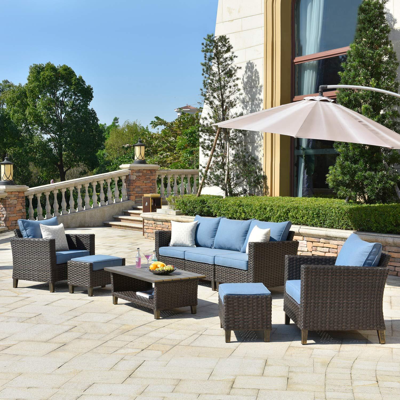 Cheap Ovios Patio Furnitue Outdoor Furniture Sets Morden