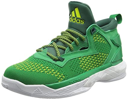 info for e09f0 ef2f7 adidas Performance Mens D Lillard 2 Primeknit Basketball Shoes - 14.5