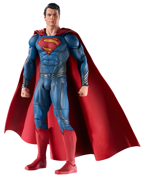 MAN OF STEEL MOVIE MASTERS SUPERMAN FIGURE