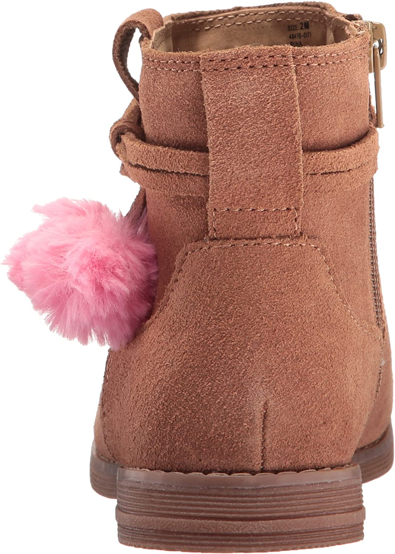 Hanna Andersson Kids Runa Girls pom Ankle Boot