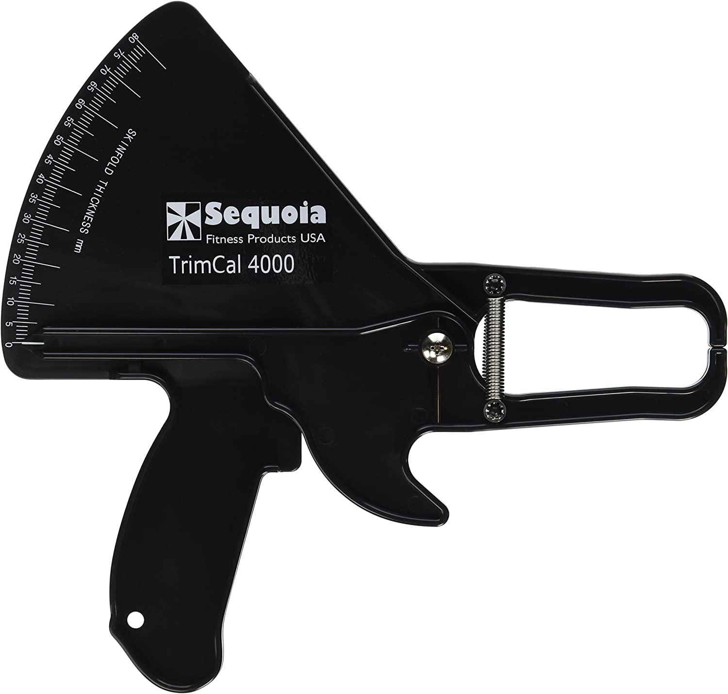 Sequoia Fitness TrimCal 4000 Body Fat Caliper (Black) [Health and Beauty]: Health & Personal Care