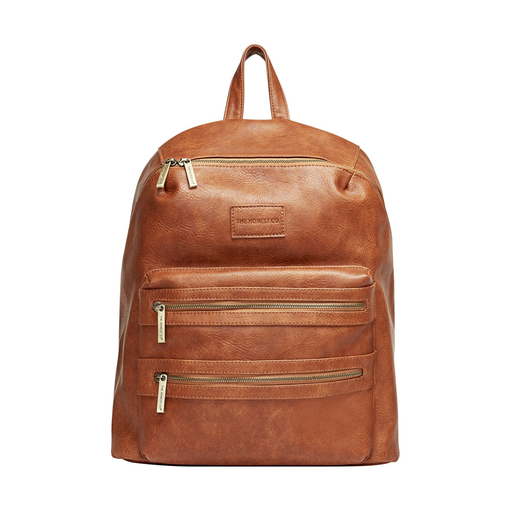 The Honest Company City Backpack, Cognac