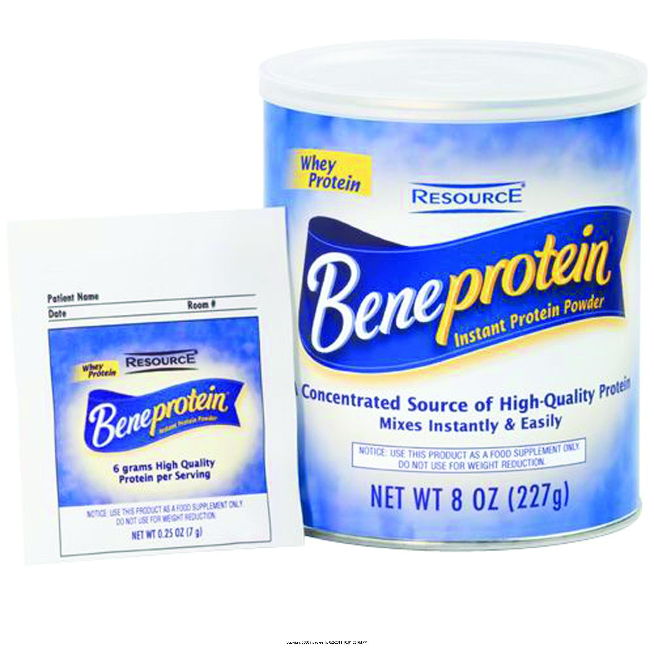 RESOURCE BENEPROTEIN Instant Protein Powder, Resource Beneprotein Pwdr 8 oz, (1 CASE, 6 EACH) by Nestle Nutritional