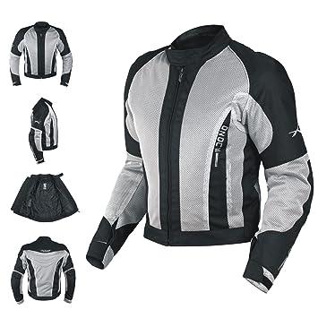 7e697846a87 CE Armour Mesh Summer Tex Jacket Motorbike Motorcycle Pants Sonicmoto Grey  XXL: Amazon.co.uk: Car & Motorbike