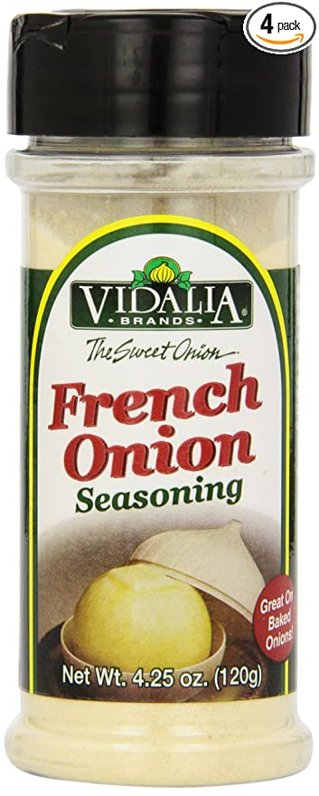 Vidalia marca francesa Onion Seasoning, 11,4 ml (Pack de 4 ...